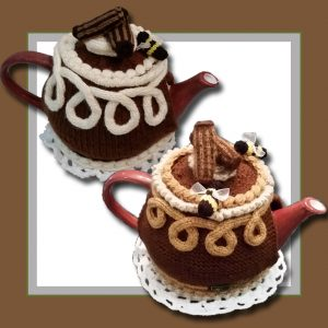 Chocolate Cake Tea Cosy logo