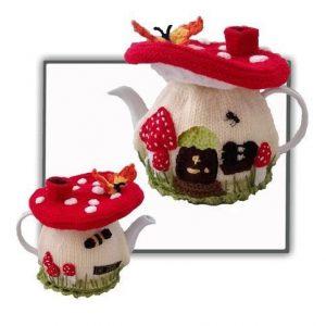 Fairy Mushroom Tea Cosy Pattern