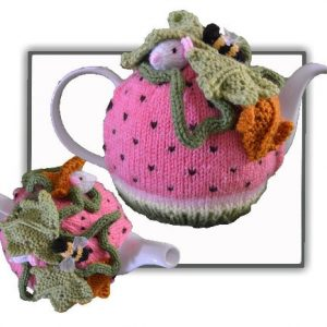 Watermelon Mouse Tea Cosy Pattern
