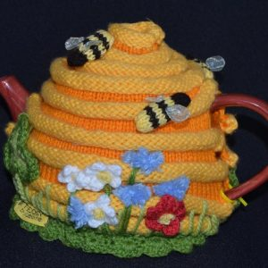 Bee Hive Tea Cosy Pattern
