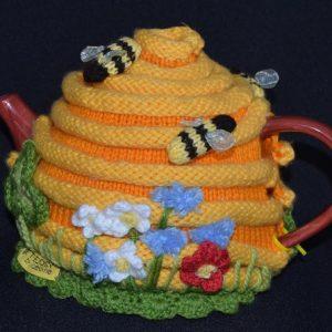 Bee Hive Tea Cosy Pattern