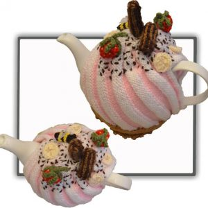 Strawberry Swirl Tea Cosy Pattern
