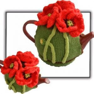 Poppy Tea Cosy Pattern