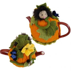 Pumpkin Hedgehog Tea Cosy Pattern