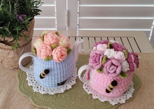 Rose Garden Bouquet Tea Cosy Pattern