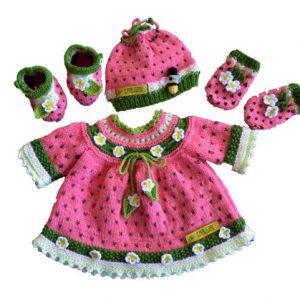 Watermelon Baby Layette Pattern