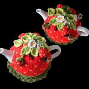 Strawberry Field Tea Cosy Pattern