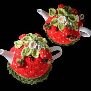 Strawberry Field Tea Cosy Pattern