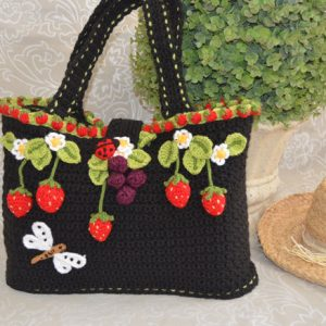 Fairy Strawberry Tote Bag / Basket Pattern