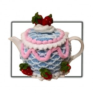 Iced Cake Tea Cosy Pattern
