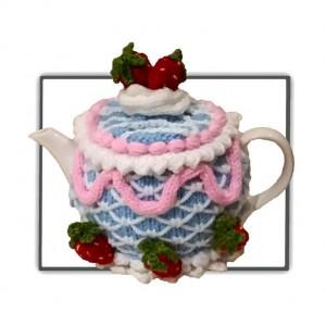 Iced Cake Tea Cosy Pattern