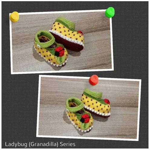 granadilla ladybug bootie image