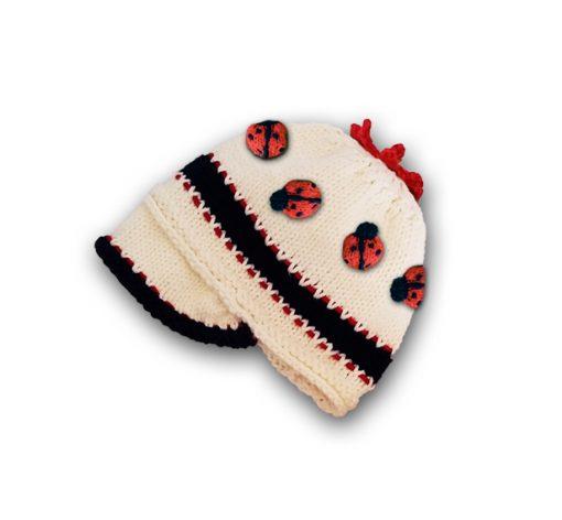 ladybug baby beanie cap