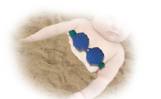 mermaid top for babies