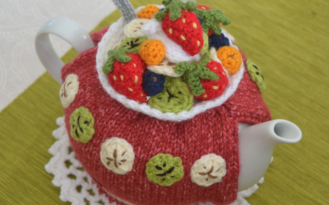 Fruit Salad anyone?!   aka Fruit Salad Tea Cozy Pattern to make