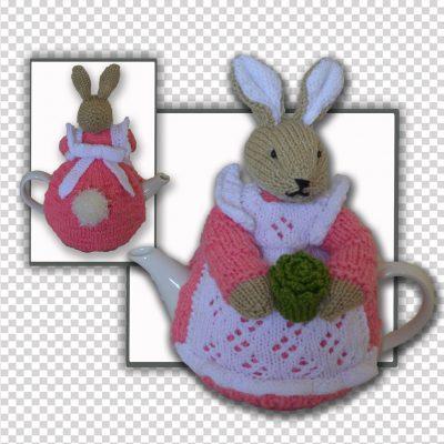 beatrix flufftail tea cosy