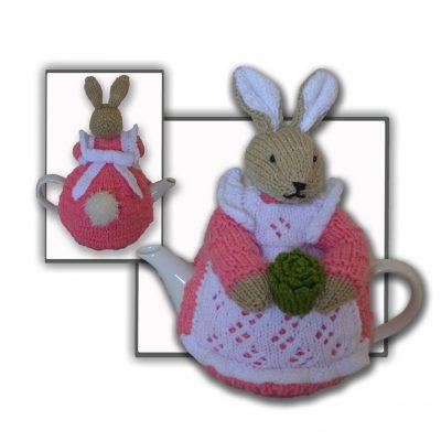 Beatrix Flufftail Bunny Rabbit Tea Cosy