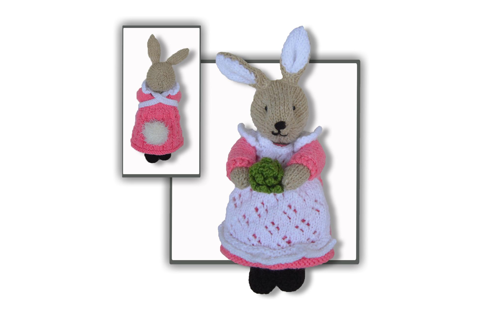 beatrix flufftail bunny rabbit