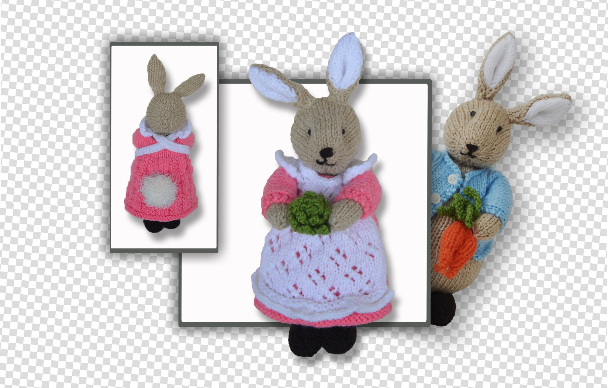 beatrix peter & flufftail bunny rabbit
