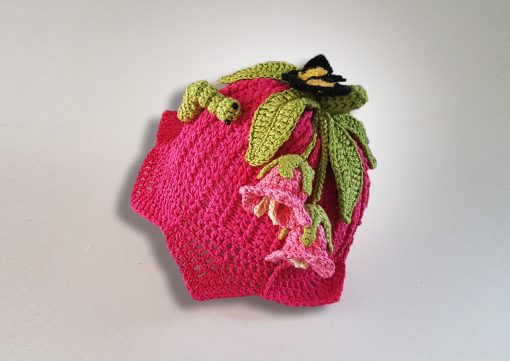 pink lily hat to crochet