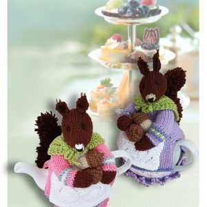 squirrel nutcracker tea cosy