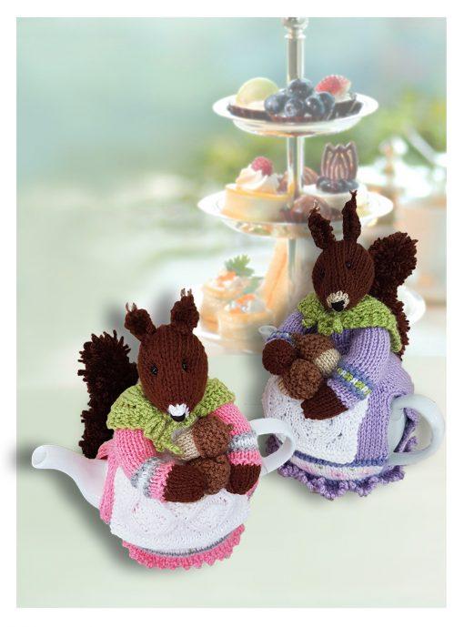 squirrel nutcracker tea cosy