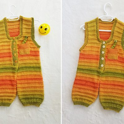 sunshine dungarees knitting pattern