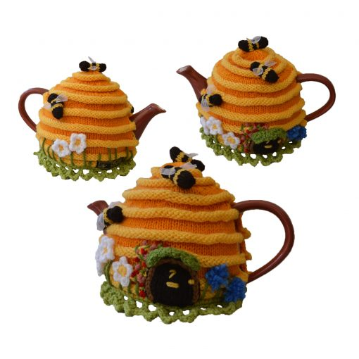 Bee Hive-house-tea-cosy-pattern
