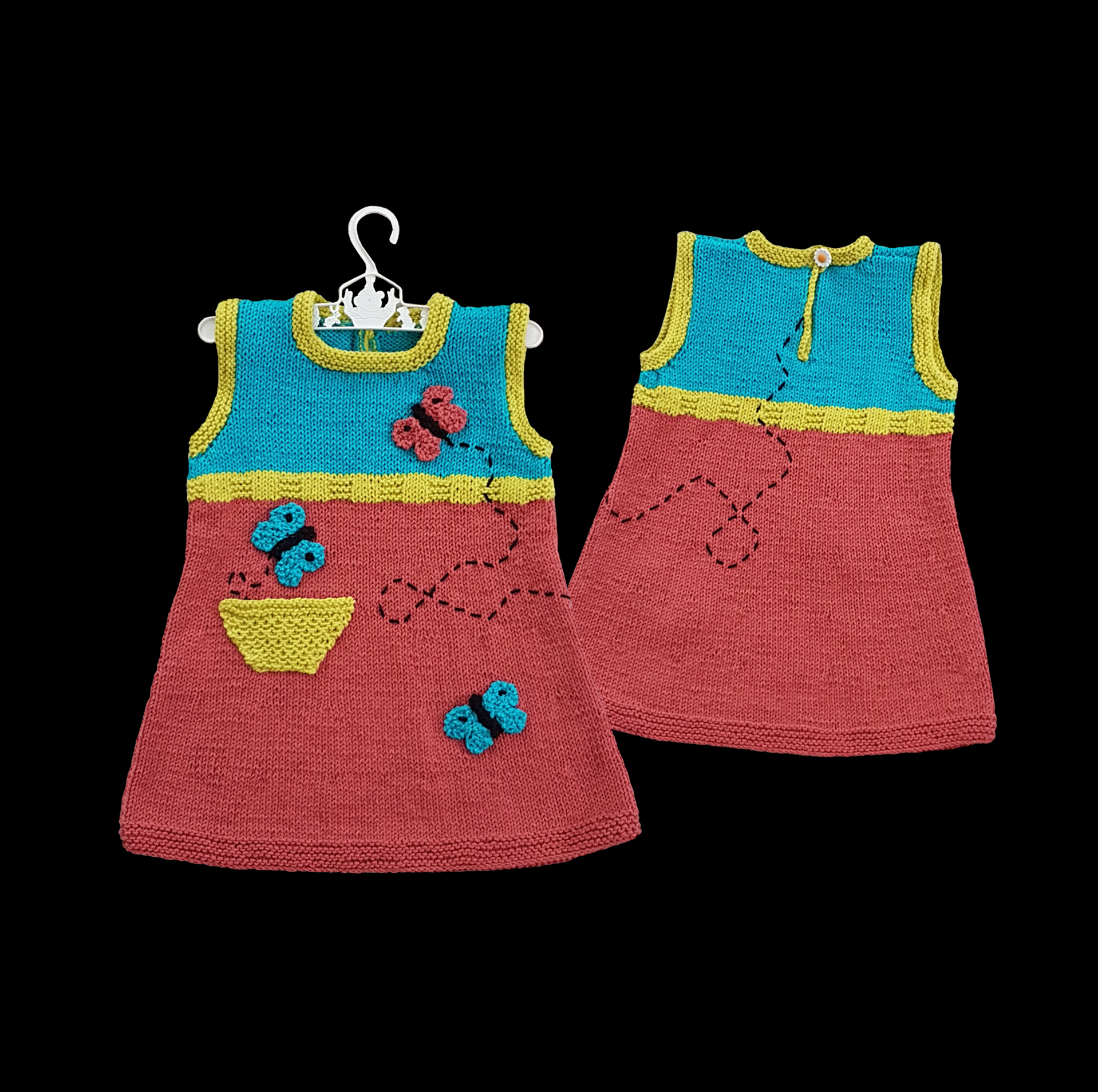 Butterfly Tunic Dress (1-5 year old) image