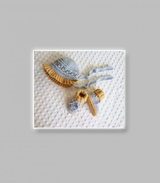 angel lace baby layette set