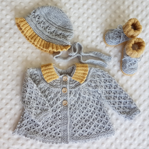 Angel Lace Baby Layette  (0-12months)