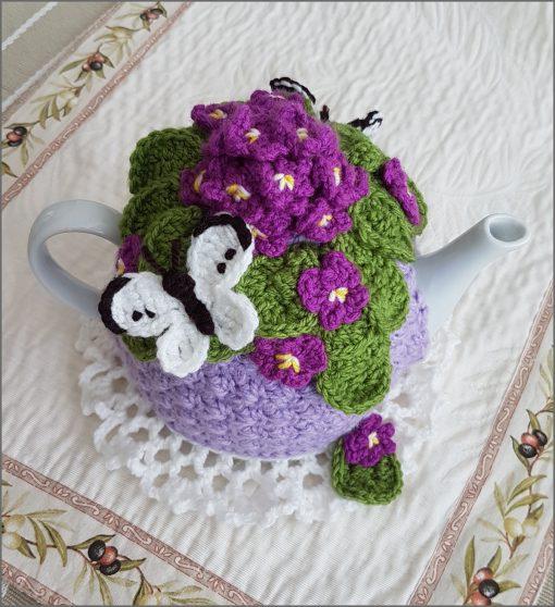 Violet Tea Cosy