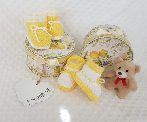 Bunnykids Honey Baby Set (0 – 12 months) kitting pattern