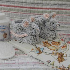 Sebastian-Bunnykids-Mouse Booties
