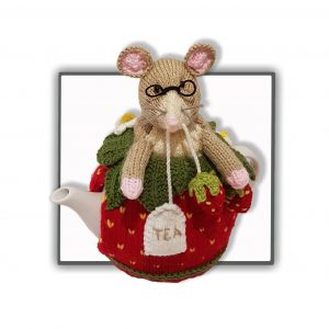 Strawberry Dormouse Tea Cosy