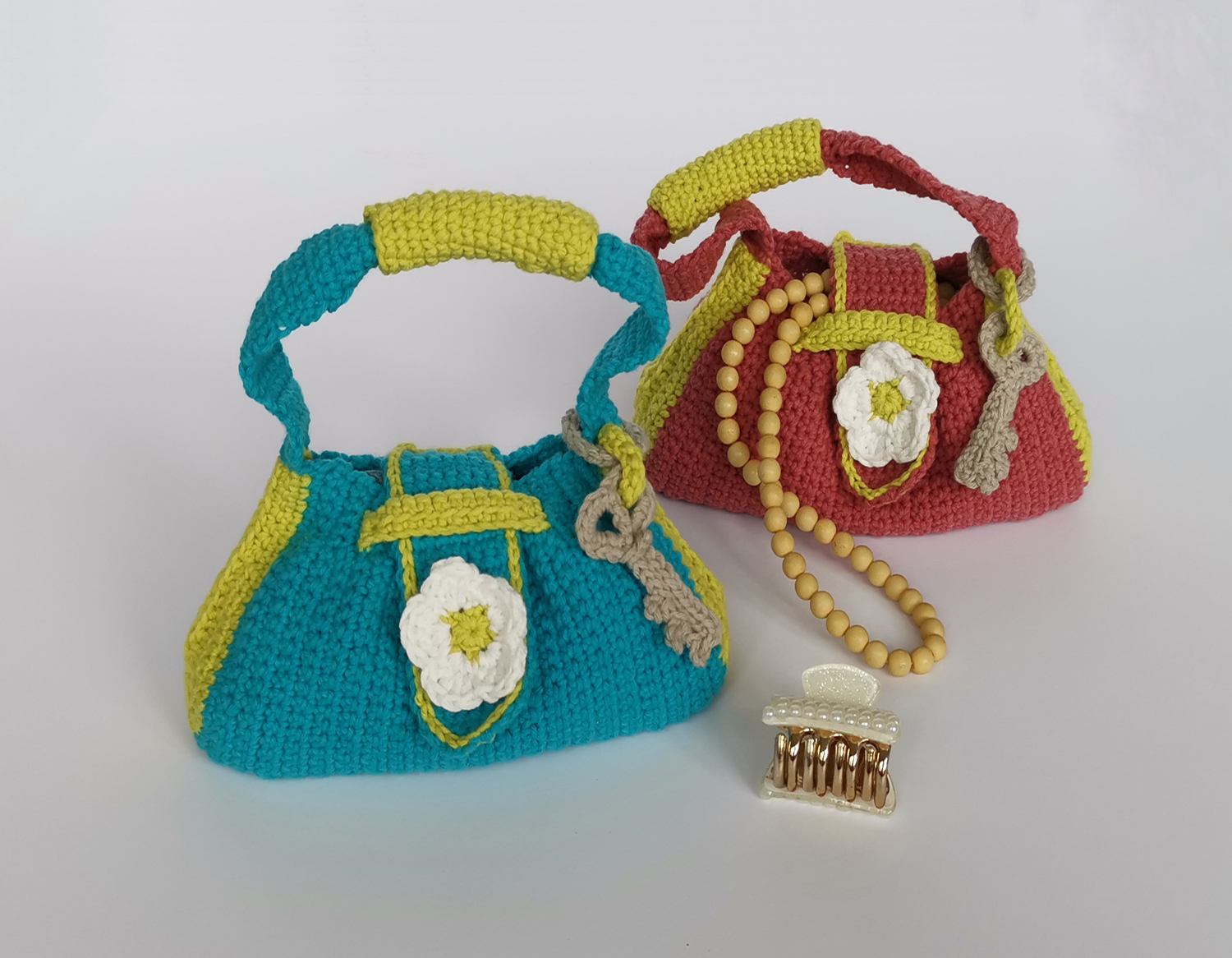 Coquette Crochet Bag