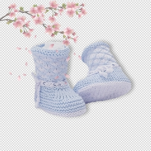 All in one Booties –  (0-12 months)