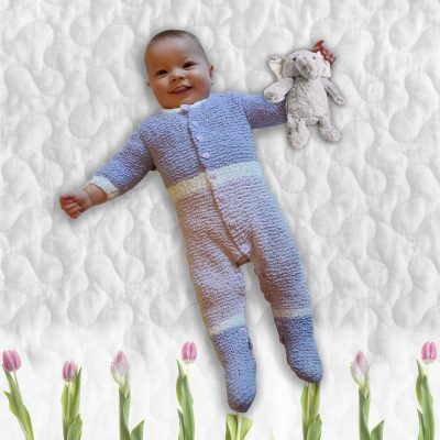 Zachariah Onesie Sleepsuit